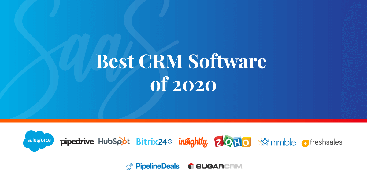 Best Crm For Small Business 2020.The 10 Best Crm Software For Better Customer Management In 2020