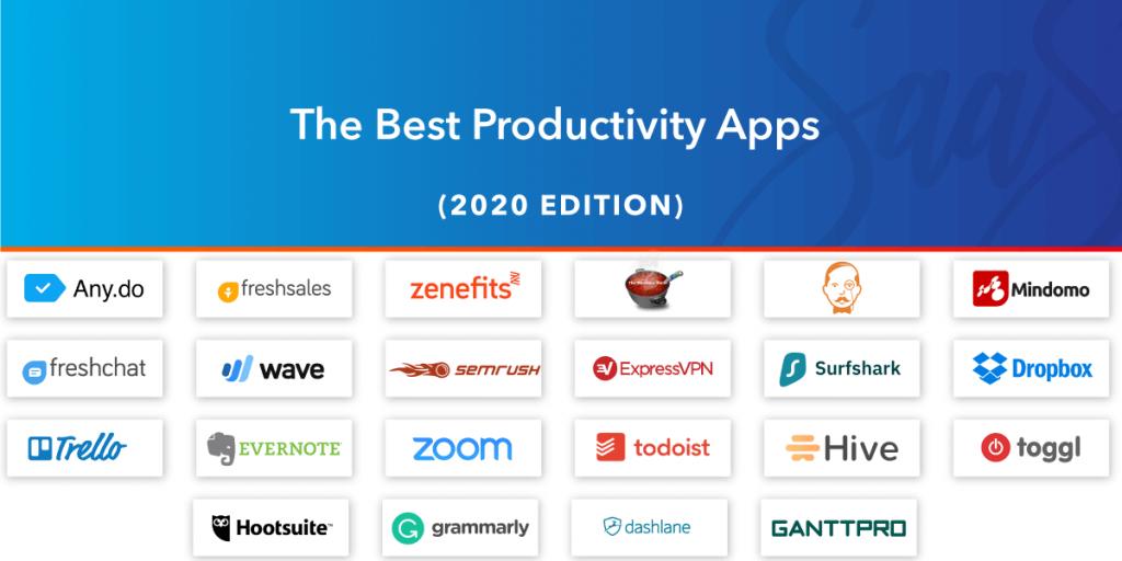 best productivity apps, best free productivity apps, best productivity apps for Mac, best productivity apps for iPad, best productivity apps for Android, best productivity apps of 2020, best productivity apps for iPhone, best productivity apps for iOS, best productivity apps for iPad Pro, All That SaaS, SaaS blog