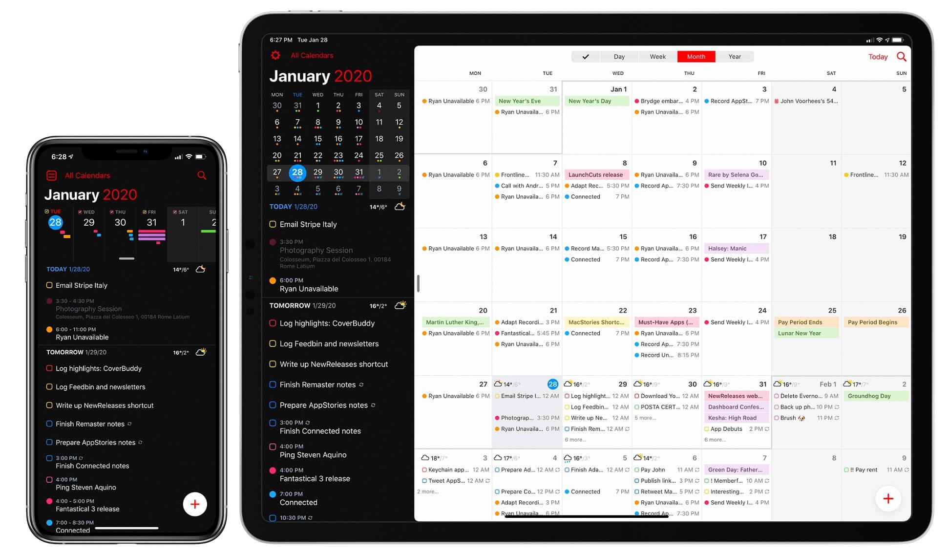 fantastical 3 calendar app
