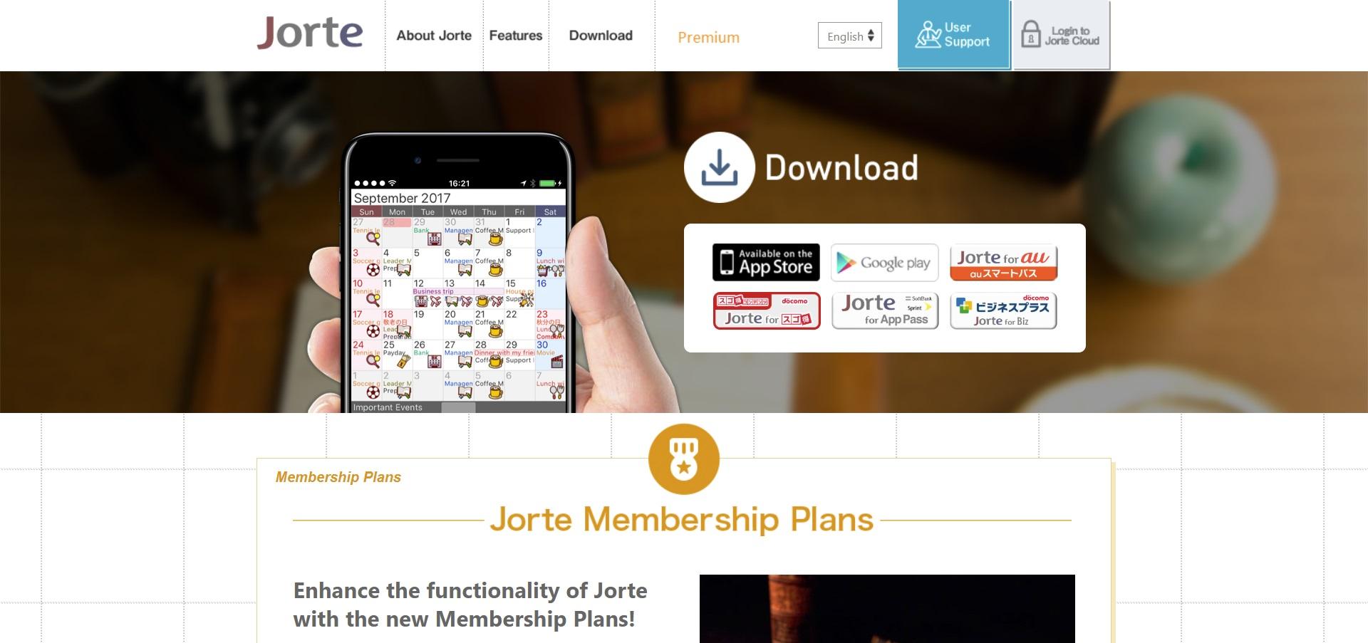 jorte calendar app