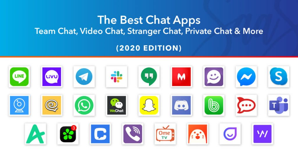 26 Best Chat Apps in 2020 for Teams, Video, Strangers